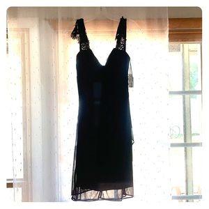 Signature Valerie Black Dress Size 10